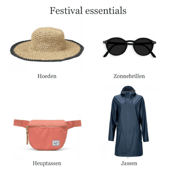 yuttu festival essentials nieuwsbrief zomer