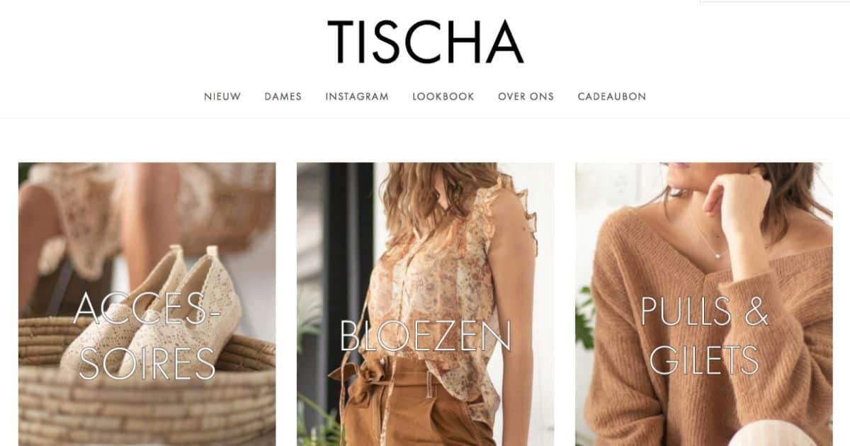 kledij productfotografie tischa webshop