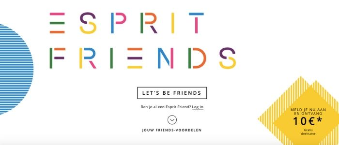 esprit friends loyalty