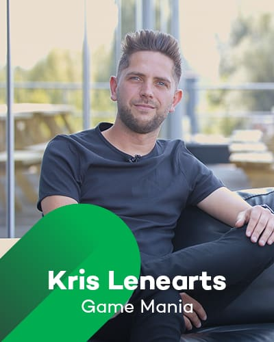 Kris Lenaerts van Gamemania bij Retail Koplopers