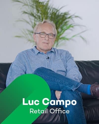 Luc Campo van Retail office bij Retail Koplopers