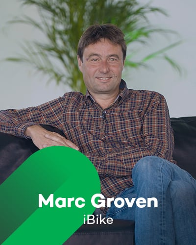 Marc Groven van iBike bij Retail Koplopers