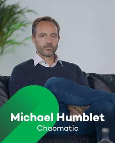 Michael Humblet van Chaomatic bij Retail Koplopers