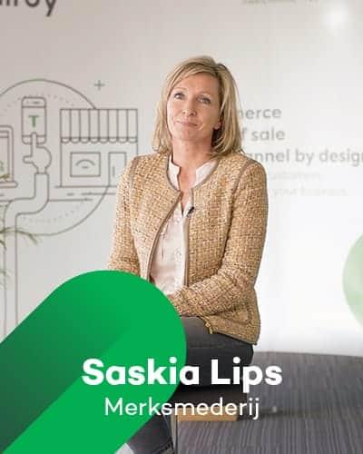 Saskia Lips van de Merksmederij bij Retail Koplopers