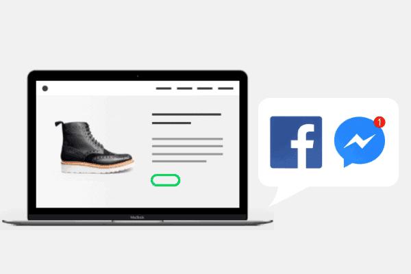 illustratie Activeer Facebook Messenger voor je webshop