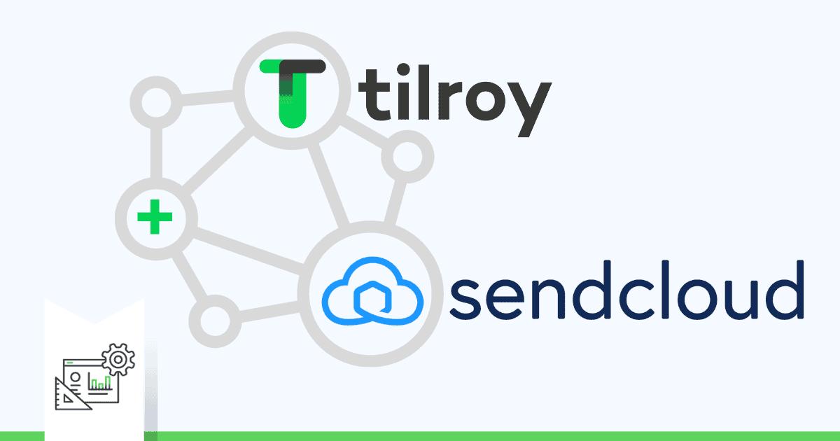 illustratie Sendcloud integratie Tilroy