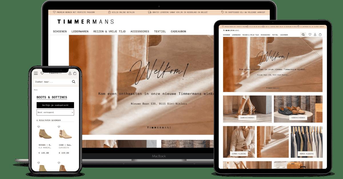 timmermans schoenenwinkel webshop